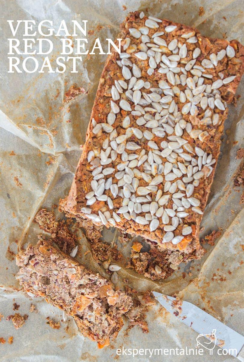 vegan read bean roast pate