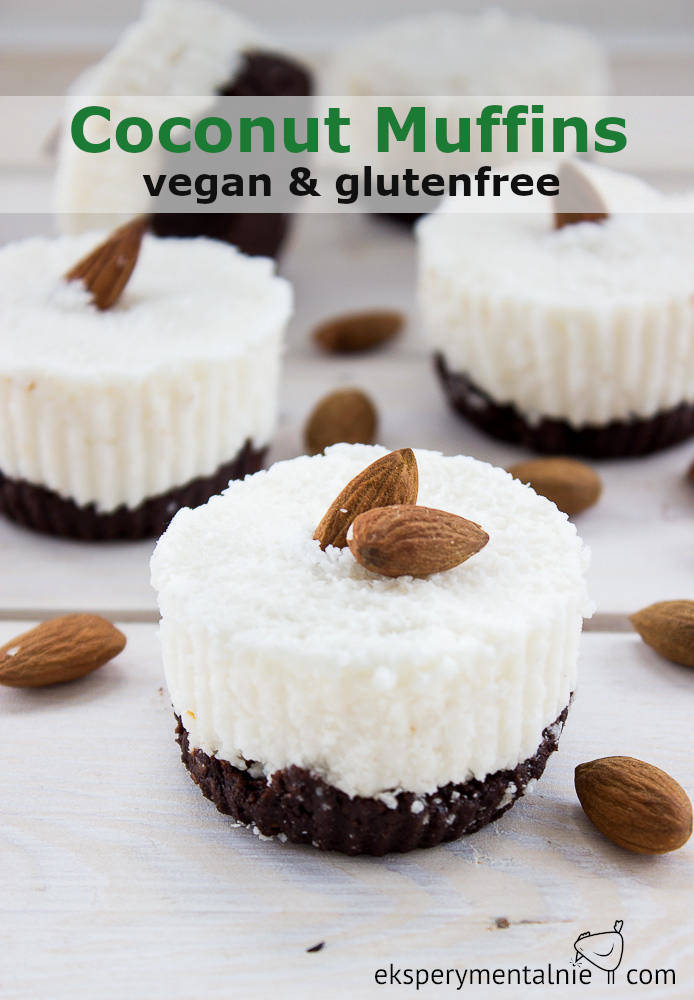 coconut muffins vegan & glutenfree